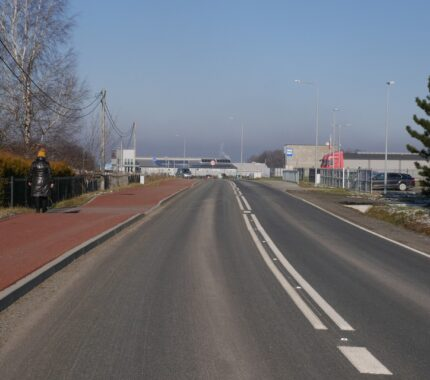 Odbiór końcowy przebudowy Białej Drogi (11.01.2021)