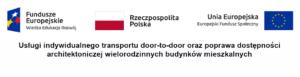 """""""Otwarty Samorząd – Aktywny Mieszkaniec"""" – organizacja usług indywidualnego transportu door-to-door na terenie Powiatu Wadowickiego"""