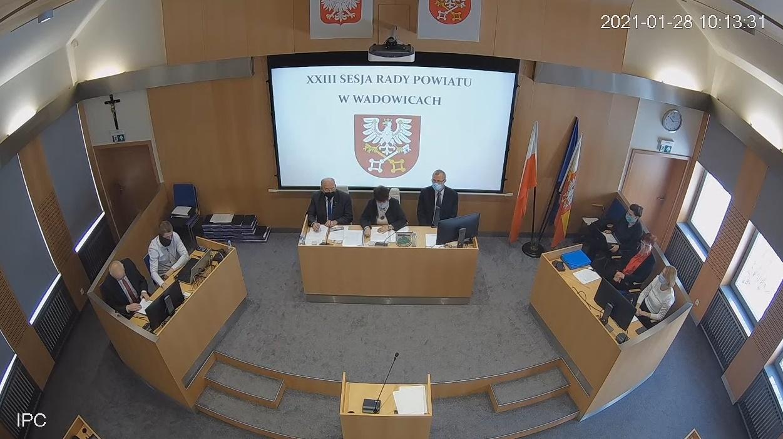 XXIII sesja Rady Powiatu w Wadowicach (relacja na żywo)