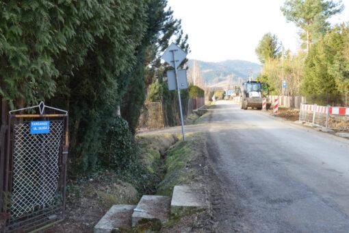 Ulica Długa w Targanicach w przebudowie. Są też konkretne wieści dla mieszkańców ul. Lenartowicza w Andrychowie