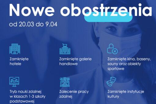 Od soboty, 20 marca w całej Polsce obowiązują rozszerzone zasady bezpieczeństwa