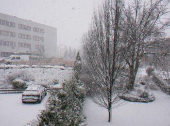 Uwaga – opady śniegu!
