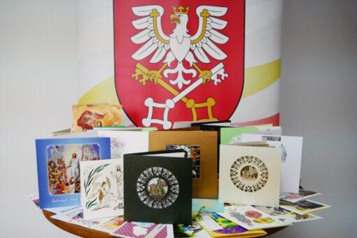 kartki świąteczne nadesłane do władz Powiatu Wadowickiego
