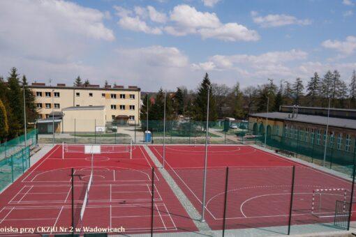 Nowe boiska w Andrychowie i Wadowicach już odebrane. Powiat planuje kolejne inwestycje w sport