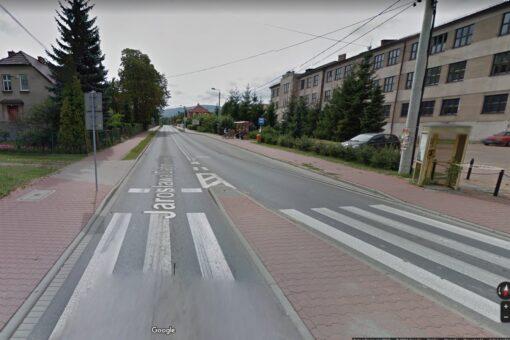 Od 20 kwietnia ulica Dąbrowskiego w Andrychowie zostanie częściowo zamknięta w związku z awarią kolektora ściekowego