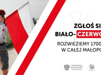 plakat do akcji 1700 flag na 17. rocznicę Święta Flagi Rzeczypospolitej Polskiej