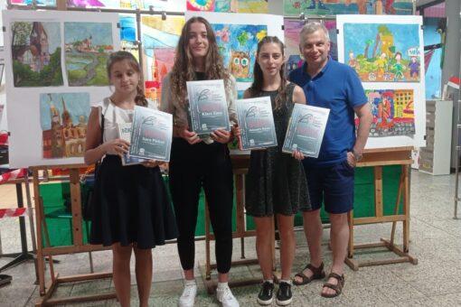 Uczennice LO w Wadowicach osiągneły sukces w tegorocznej FAMIE