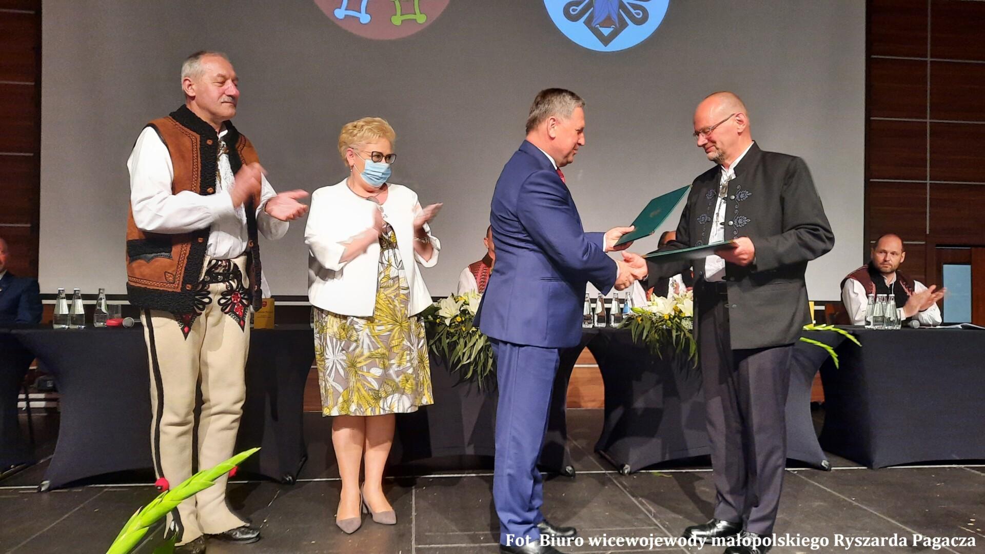 6 czerwca br. podpisano umowę o partnerstwie między powiatami wadowickim i tatrzańskim