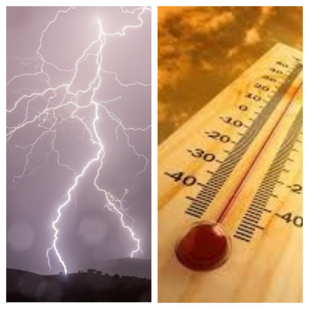 synoptycy prognozują na najbliższe dni burze i upały