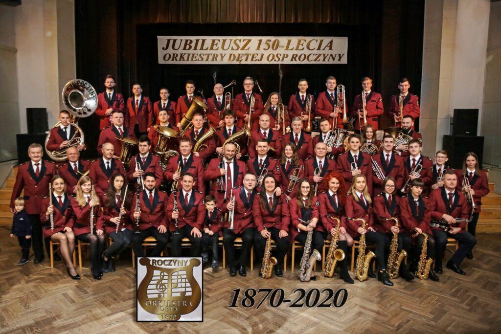 orkiestra dęta z Roczyn ma już 151 latat