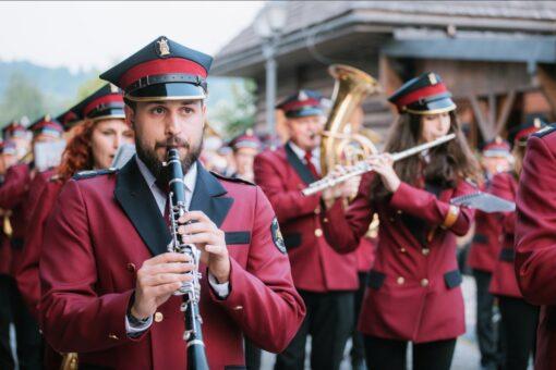 """orkiestra dęta w Roczynach zwyciężyła w swojje kategorii w prestiżowym festiwalu """"Echo Trąbity"""" w Nowym Sączu"""