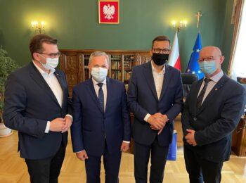 Starosta uczestniczył w spotkaniu z premierem M. Morawieckim poświęconym Polskiemu Ładowi