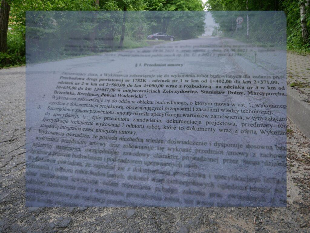 Dotrzymujemy słowa. Wkrótce ruszy przebudowa ponad 5 km drogi powiatowej Kalwaria – Brzeźnica