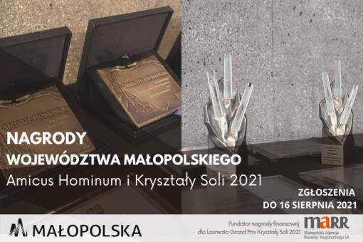 Nagrody Województwa Małopolskiego dla dobroczyńców oraz najlepszych organizacji pozarządowych