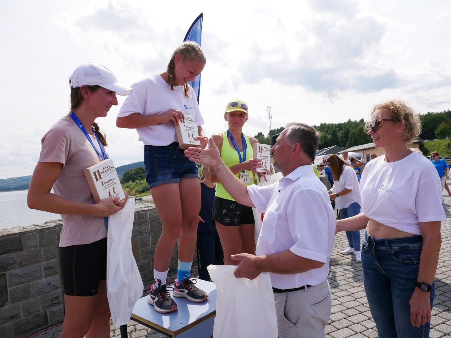 Około 200 zawodników wzięło udział w IIBiegu na Zaporę - Świnna Poręba, który odbył się wczoraj, 22 sierpnia br.