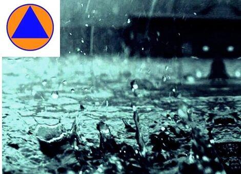 na dzisiaj - 5 sierpnia zapowiadane są intensywne opady deszczu